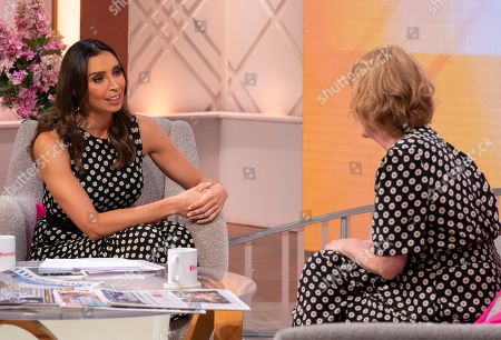 Christine Lampard and Charlie Hardwick