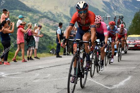 Vincenzo Nibali (ITA) pictured during Tour de France cycling race twentieth stage over 59,5 kilometers (36.9miles) with start in Albertville and finish in Val Thorens