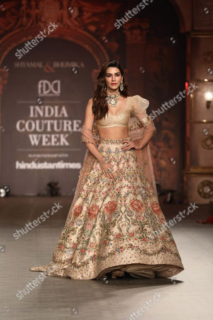Kriti Sanon on the catwalk
