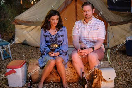 Georgia Flood as Amanda Klein and Rory O'Malley as Brian Dooley