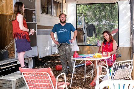 Kitana Turnbull as Breeze, Matt Peters as Shart O'Belly and Dannah Feinglass Phirman as Lulu
