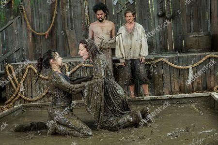Georgia Flood as Amanda Klein, Seana Kofoed as Maggie Lucas Hazlett as Stick and Lucas Neff as David Poland