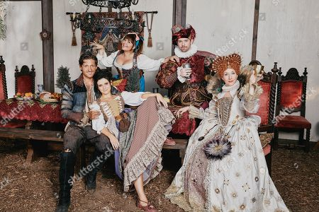 Lucas Neff as David Poland, Georgia Flood as Amanda Klein, Mary Hollis Inboden as Delilah, Rory O'Malley as Brian Dooley and Seana Kofoed as Maggie
