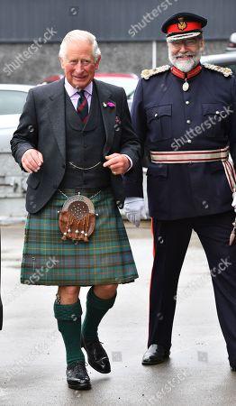 Prince Charles visits Caithness, Scotland