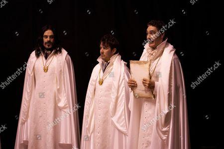 Jemaine Clement as Vladislav, Jonny Brugh as Deacon and Taika Waititi as Viago