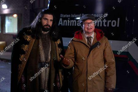 Kayvan Novak as Nandor and Mark Proksch as Colin Robinson
