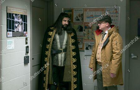 Stock Image of Kayvan Novak as Nandor and Mark Proksch as Colin Robinson