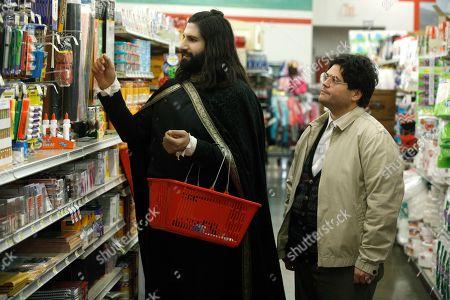 Kayvan Novak as Nandor and Harvey Guillen as Guillermo
