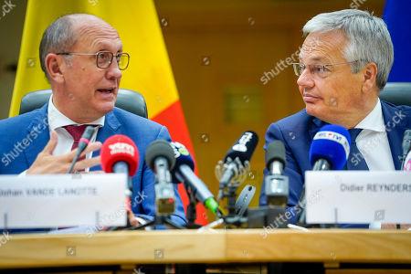 Johan Vande Lanotte, Didier Reynders