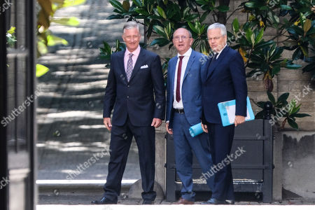 King Philippe of Belgium, Didier Reynders, Johan Vande Lanotte