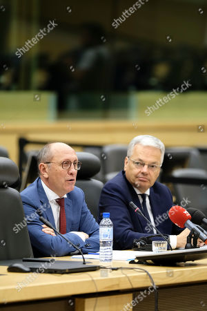 Editorial photo of Informers 2nd report presentation, Brussels, Belgium - 29 Jul 2019