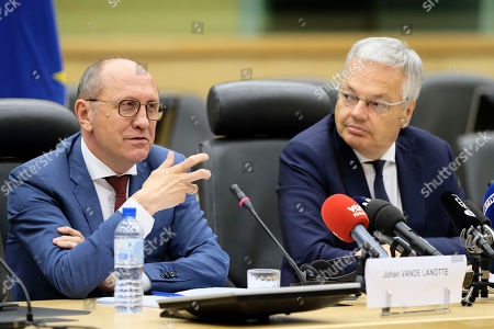 Editorial image of Informers 2nd report presentation, Brussels, Belgium - 29 Jul 2019