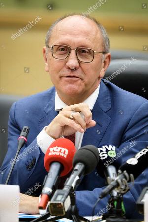 Stock Picture of Johan Vande Lanotte