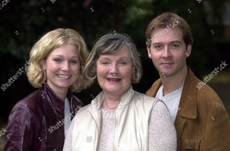 Actors (l-r) Emma Ferguson Barbara Murray And Stash Kirkbridge The Trio Are Appearing Together In Ring Round The Moon At The Kings Head In Islington London.