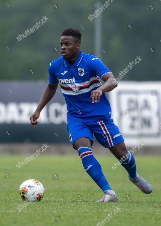 Ronaldo Augusto Vieira Nan of Sampdoria in action