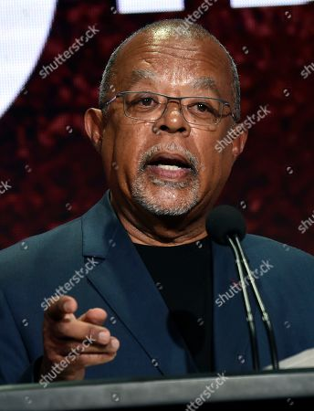 """Dr. Henry Louis Gates Jr., host and executive producer of the PBS series """"Finding Your Roots,"""" takes part in a panel discussion during the 2019 Television Critics Association Summer Press Tour at the Beverly Hilton, in Beverly Hills, Calif"""