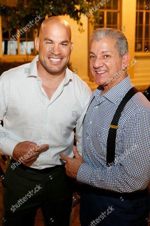 Tito Ortiz and Bruce Buffer