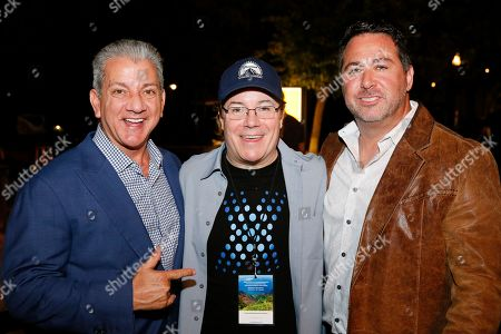 Bruce Buffer, Jamie Gold and Greg Stocklan
