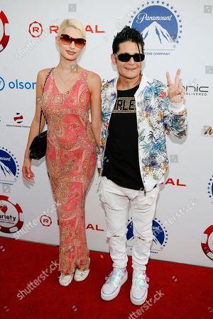 Courtney Feldman and Corey Feldman