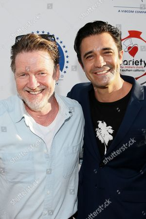 Stock Picture of Donal Logue and Gilles Marini
