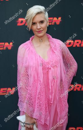 """Maggie Grace attends the LA Premiere of """"Driven"""" at the ArcLight Hollywood, in Los Angeles"""