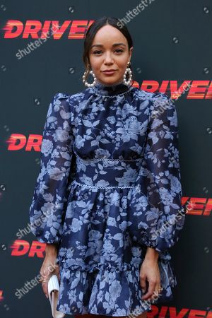"""Ashley Madekwe attends the LA Premiere of """"Driven"""" at the ArcLight Hollywood, in Los Angeles"""