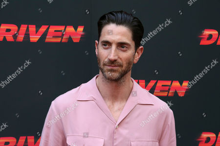 """Iddo Goldberg attends the LA Premiere of """"Driven"""" at the ArcLight Hollywood, in Los Angeles"""