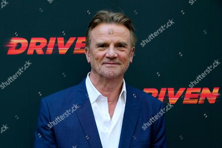"""Nick Hamm attends the LA Premiere of """"Driven,"""" at the ArcLight Hollywood, in Los Angeles"""