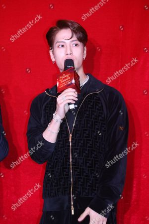 Editorial picture of Jackson Wang of GOT7 attends the opening ceremony of his wax statue at Hong Kong Madame Tussauds, China - 29 Jul 2019