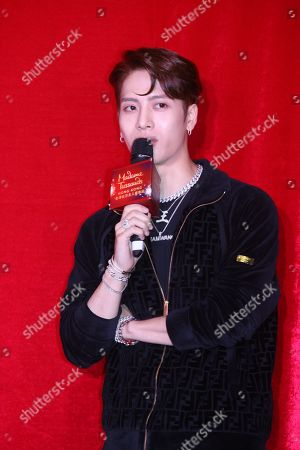 Editorial image of Jackson Wang of GOT7 attends the opening ceremony of his wax statue at Hong Kong Madame Tussauds, China - 29 Jul 2019