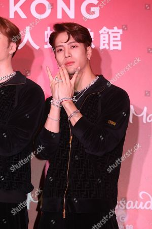Editorial photo of Jackson Wang of GOT7 attends the opening ceremony of his wax statue at Hong Kong Madame Tussauds, China - 29 Jul 2019