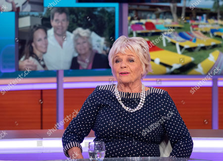 Stock Image of Judith Chalmers