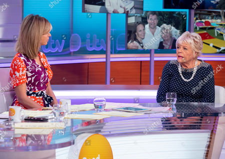 Stock Photo of Kate Garraway and Judith Chalmers