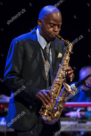 US jazz singer and saxophonist Maceo Parker performs as part of the Splendid Festival Menorca 2019 at Principal theater in Mahon, Menorca island, Spain, late 29 July 2019 (issued 30 July 2019). The festival runs from 06 July to 08 August 2019.