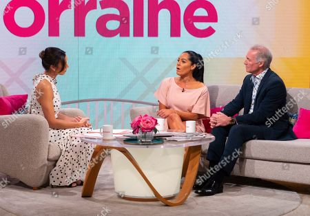 Christine Lampard, Tracy Leanne Jefford and Dr Hilary Jones