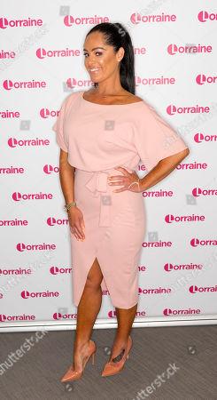 Editorial image of 'Lorraine' TV show, London, UK - 30 Jul 2019