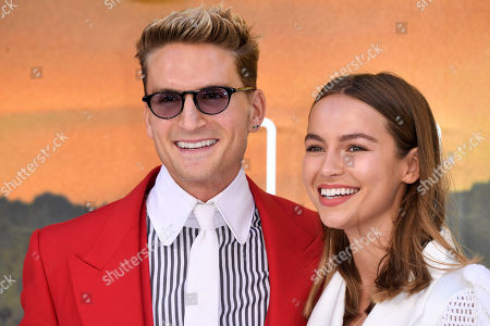 Stock Photo of Oliver Proudlock and Emma Louise Connolly
