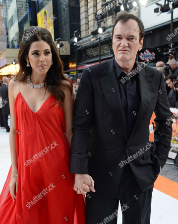Daniela Pick and Quentin Tarantino