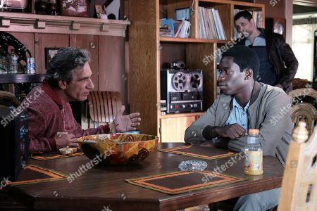 Alon Aboutboul as Avi Drexler and Damson Idris as Franklin Saint