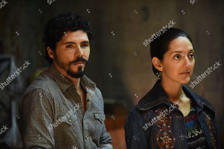 Filipe Valle Costa as Pedro Nava and Adriana DiGirolami as Soledad