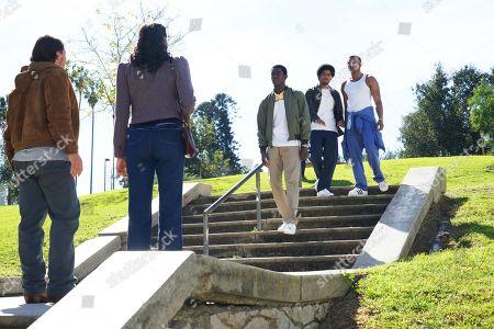 Sergio Peres-Mencheta as Gustavo Zapata, Emily Rios as Lucia Villanueva, Damson Idris as Franklin Saint, Isaiah John as Leon Simmons and Malcolm Mays as Kevin Hamilton