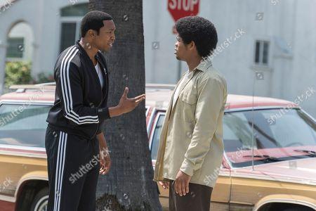 Malcolm Mays as Kevin Hamilton and Isaiah John as Leon Simmons