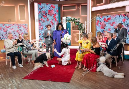 Editorial image of 'This Morning' TV show, London, UK - 30 Jul 2019