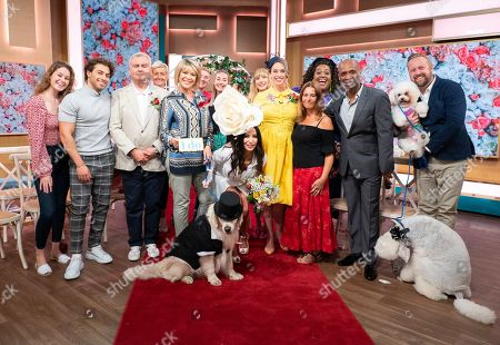 Stock Picture of Eamonn Holmes, Ruth Langsford, Kem Cetinay, Alison Hammond, Sharon Marshall, Andy Abraham, Elizabeth Hoad and Logan