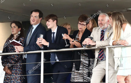 George Osborne Former Chancellor of the Exchequer is seen in the stands.