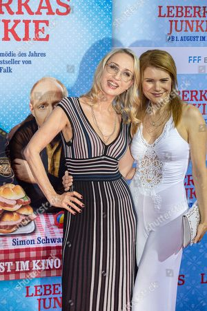 Isabella Huebner and Silke Popp