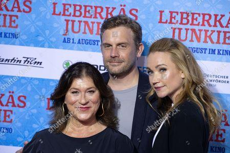 Eva Mattes, Sebastian Bezzer, Lisa Maria Potthoff