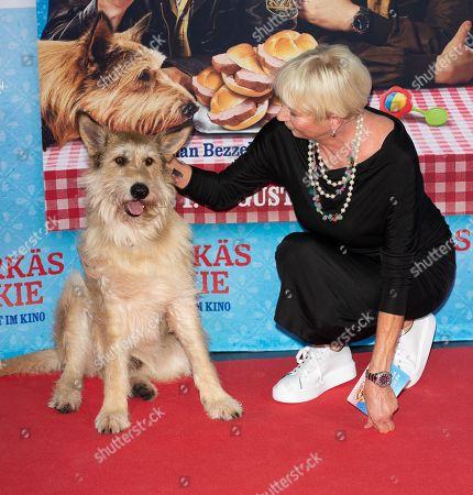Stock Image of Dog Joker with Rita Falk