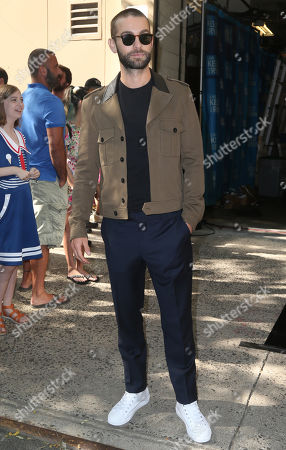 Editorial image of Chase Crawford out and about, New York, USA - 29 Jul 2019