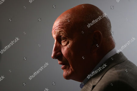 Paul Hart, Stoke City assistant manager answers questions from the media